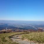 【コース紹介】2015年登り納めは南阿蘇外輪のマイナーな山、北向山を周回トレラン(岩戸神社~白川発電所~北向山~南郷往還跡~境目集落)