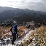 【練習】雪化粧の俵山・モーニングトレイルコースをゆるっとラン?